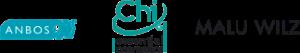 Logo's van het anbos, CHI Essential Cosmetics en Malu Wilz